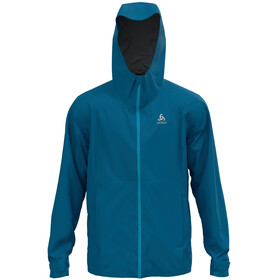 Odlo Aegis 2.5L Waterproof Jacket Hardshell Men, mykonos blue